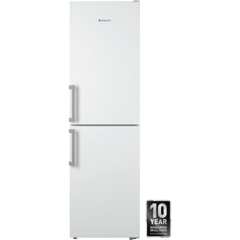 Hotpoint-Fridge-Freezer-Free-standing-XECO95-T2I-WH-White-2-doors-Frontal
