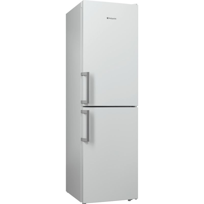 Hotpoint-Fridge-Freezer-Free-standing-XECO95-T2I-WH-White-2-doors-Perspective
