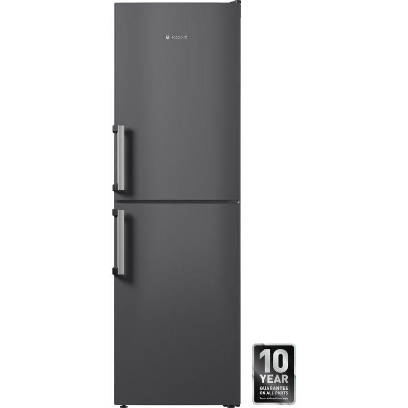Hotpoint-Fridge-Freezer-Free-standing-LAG85-N1I-GH-Graphite-2-doors-Frontal