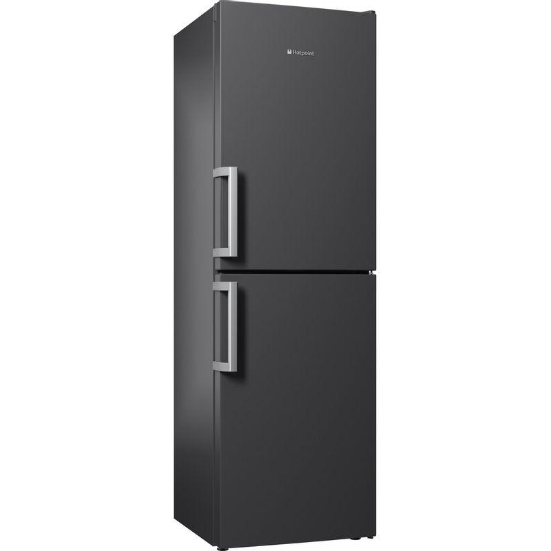 Hotpoint-Fridge-Freezer-Free-standing-LAG85-N1I-GH-Graphite-2-doors-Perspective