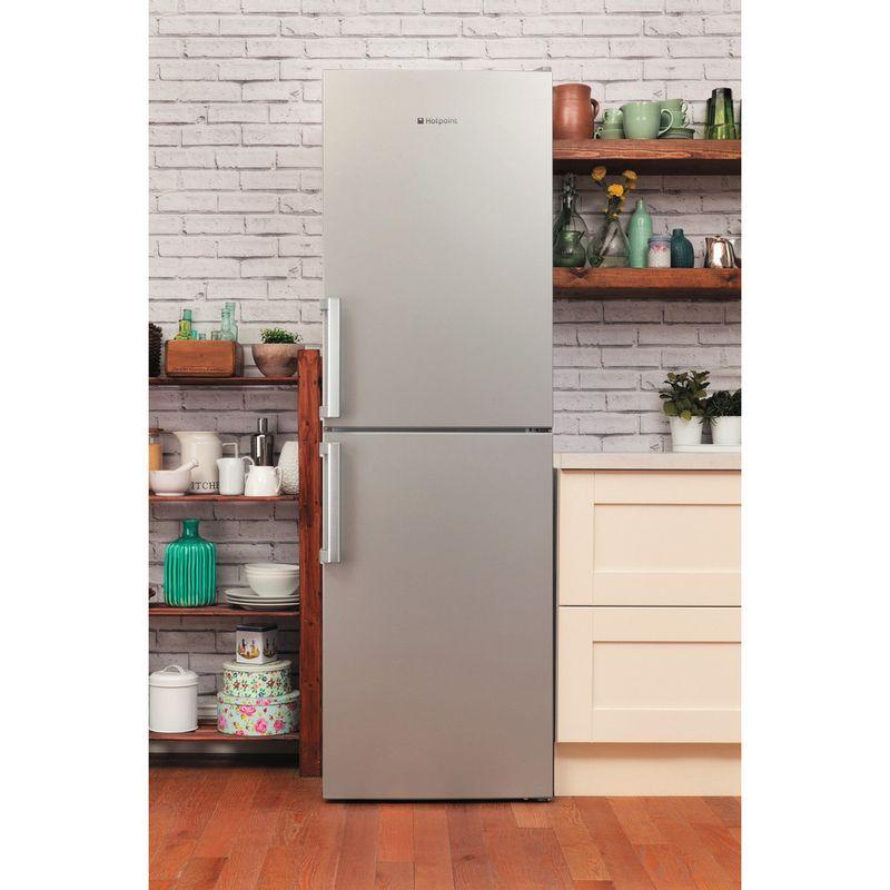Hotpoint-Fridge-Freezer-Free-standing-LAG85-N1I-GH-Graphite-2-doors-Lifestyle-frontal