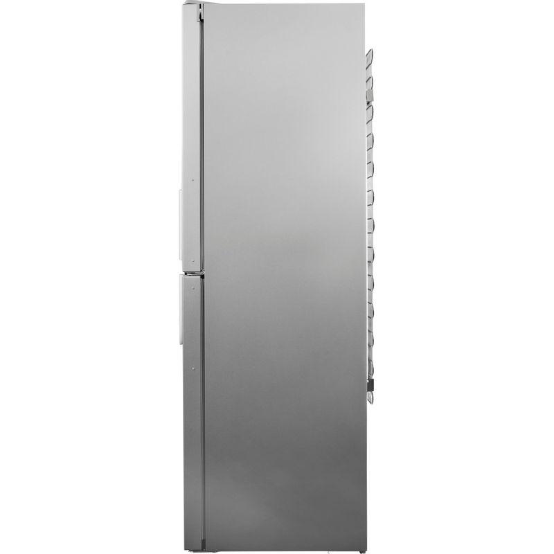 Hotpoint-Fridge-Freezer-Free-standing-LAG85-N1I-GH-Graphite-2-doors-Back---Lateral