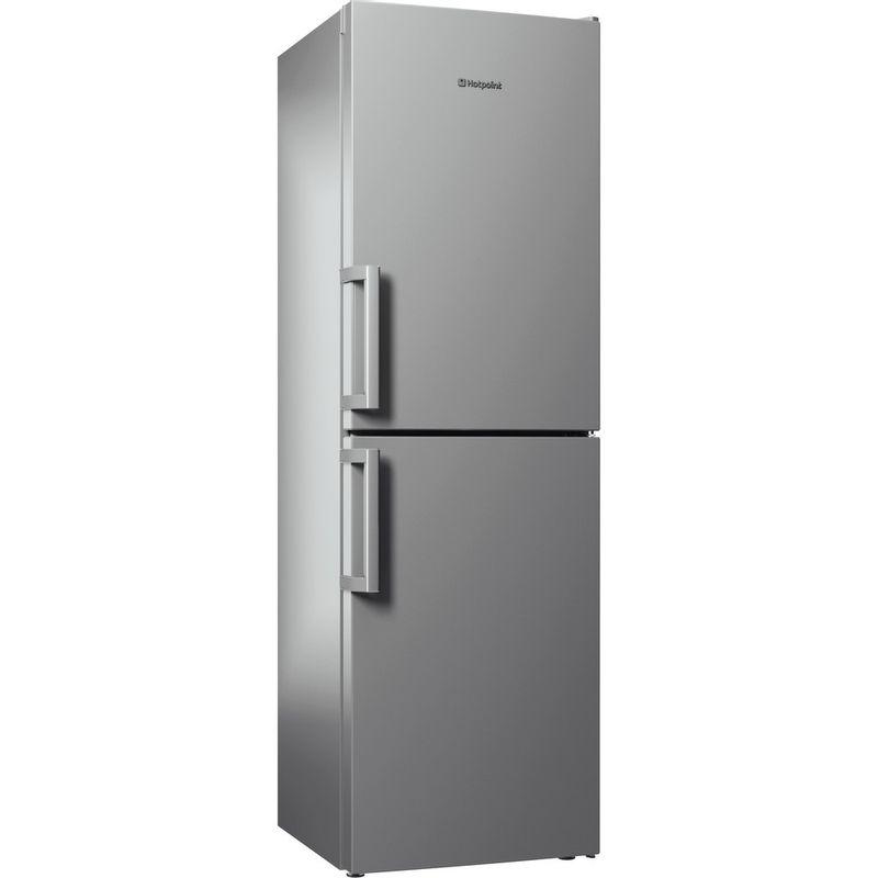 Hotpoint-Fridge-Freezer-Free-standing-XAO95-T2U-GOH-Graphite-2-doors-Perspective