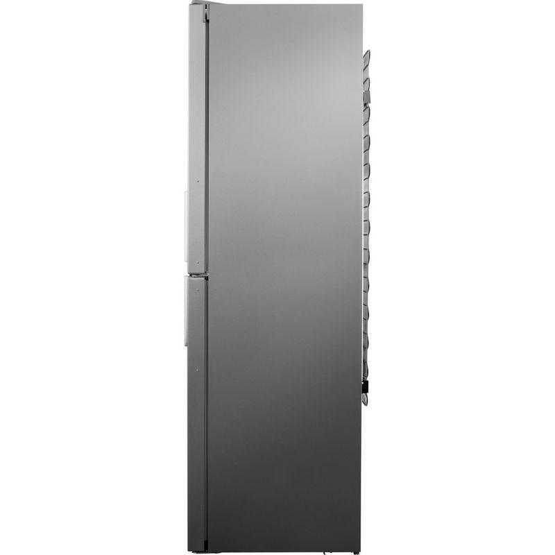 Hotpoint-Fridge-Freezer-Free-standing-XAO95-T2U-GOH-Graphite-2-doors-Back---Lateral