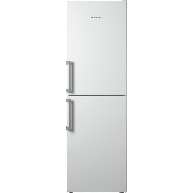 Hotpoint-Fridge-Freezer-Free-standing-LECO8-FF2-WH-White-2-doors-Frontal