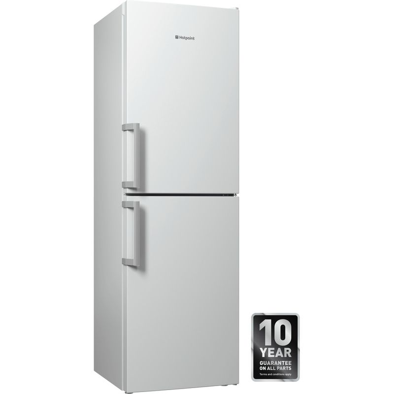 Hotpoint-Fridge-Freezer-Free-standing-LECO8-FF2-WH-White-2-doors-Perspective