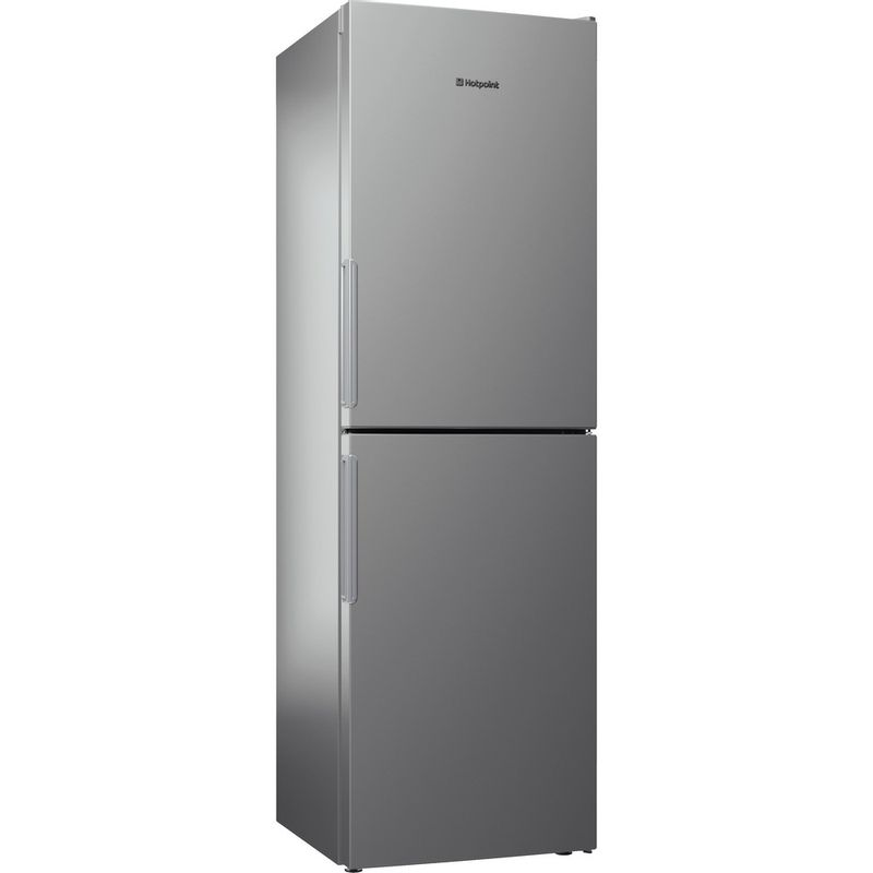 Hotpoint-Fridge-Freezer-Free-standing-XEX95-T1I-GZ-Graphite-2-doors-Perspective