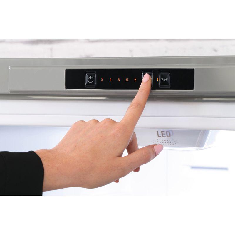 Hotpoint-Fridge-Freezer-Free-standing-XEX95-T1I-GZ-Graphite-2-doors-Lifestyle-people