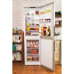 Hotpoint-Fridge-Freezer-Free-standing-XEX95-T1I-GZ-Graphite-2-doors-Lifestyle-frontal-open