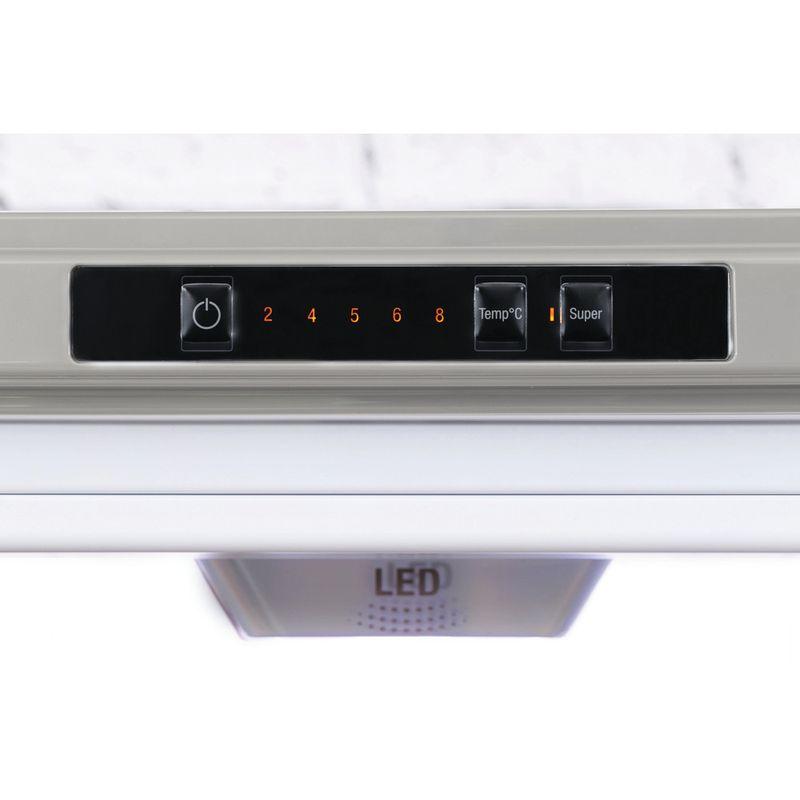 Hotpoint-Fridge-Freezer-Free-standing-XEX95-T1I-GZ-Graphite-2-doors-Control-panel