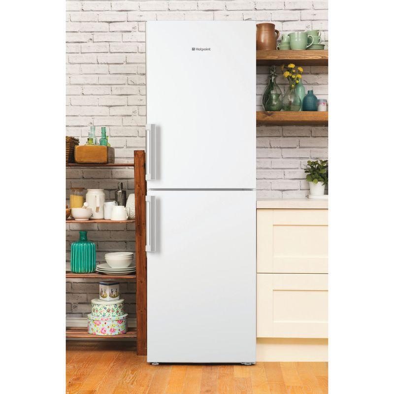 Hotpoint-Fridge-Freezer-Free-standing-LAG85-N1I-WH-White-2-doors-Lifestyle_Frontal