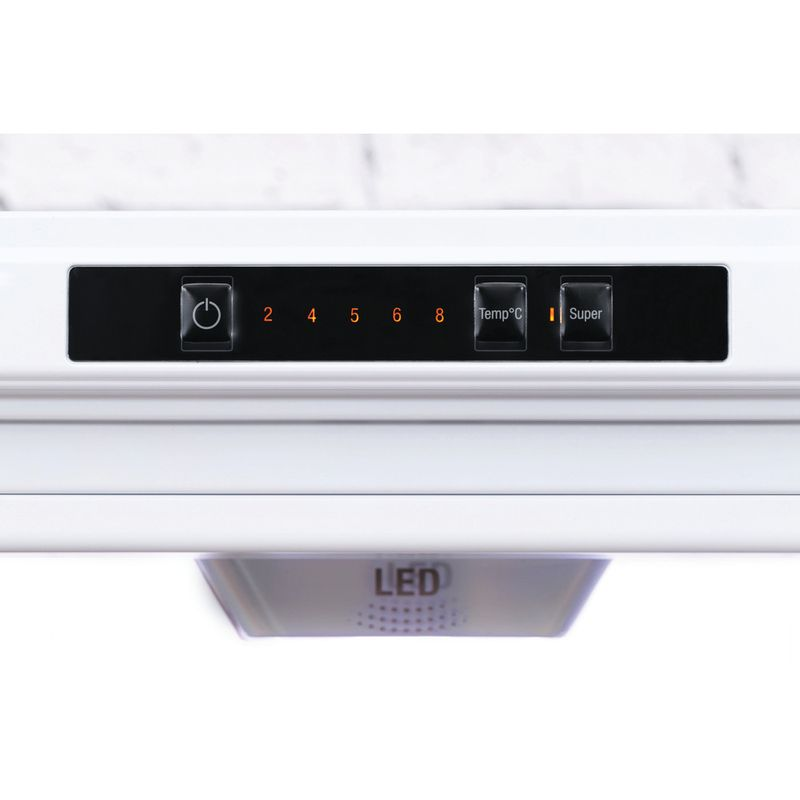 Hotpoint-Fridge-Freezer-Free-standing-XEX95-T1I-WZ-White-2-doors-Control-panel