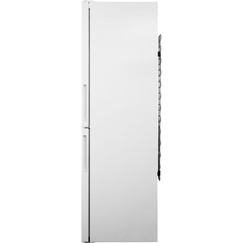 Hotpoint-Fridge-Freezer-Free-standing-XEX95-T1I-WZ-White-2-doors-Back---Lateral