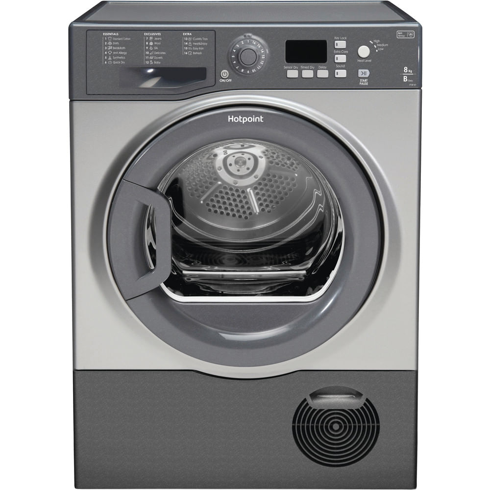Hotpoint Freestanding tumble dryer FTCF 87B GG (UK) : discover the specifications of our home appliances and bring the innovation into your house and family.