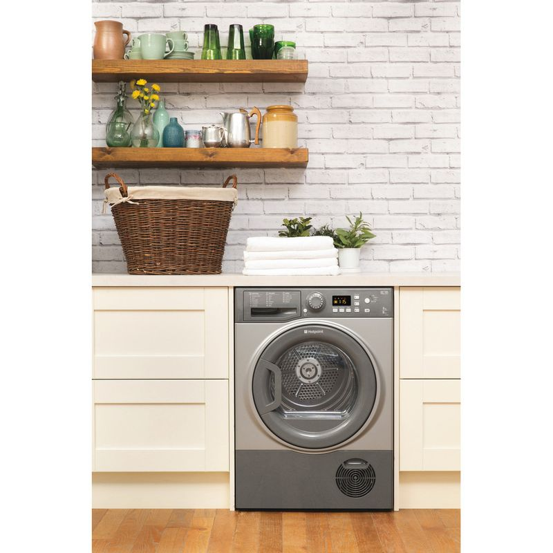 Hotpoint-Dryer-FTCF-87B-GG--UK--Graphite-Lifestyle_Frontal
