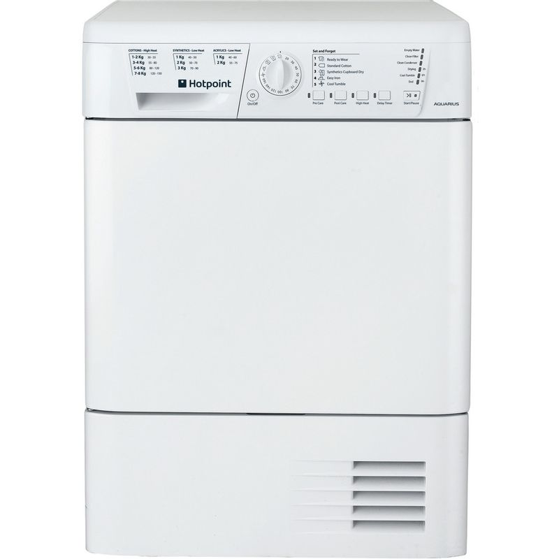 Hotpoint-Dryer-TCHL-73B-RP--UK--White-Frontal