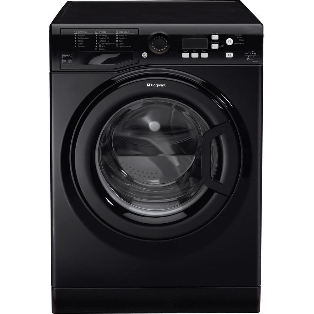 Hotpoint Freestanding Washing Machine WMBF 742K UK : discover the specifications of our home appliances and bring the innovation into your house and family.