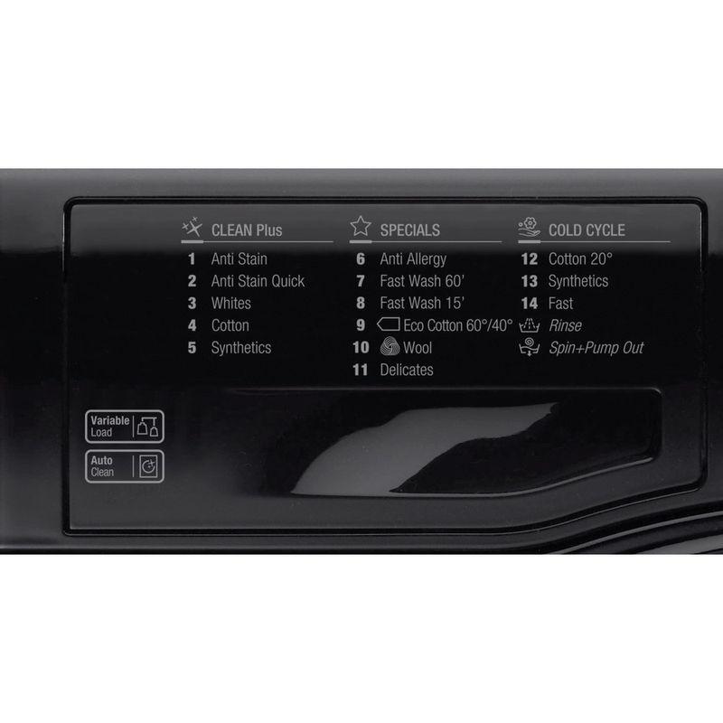 Hotpoint-Washing-machine-Free-standing-WMBF-742K-UK-Black-Front-loader-A---Program