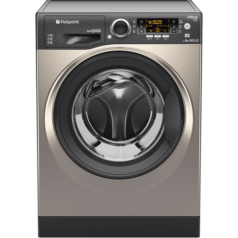 Hotpoint-Washing-machine-Free-standing-RPD-9467-JGG-UK-Graphite-Front-loader-A----Frontal