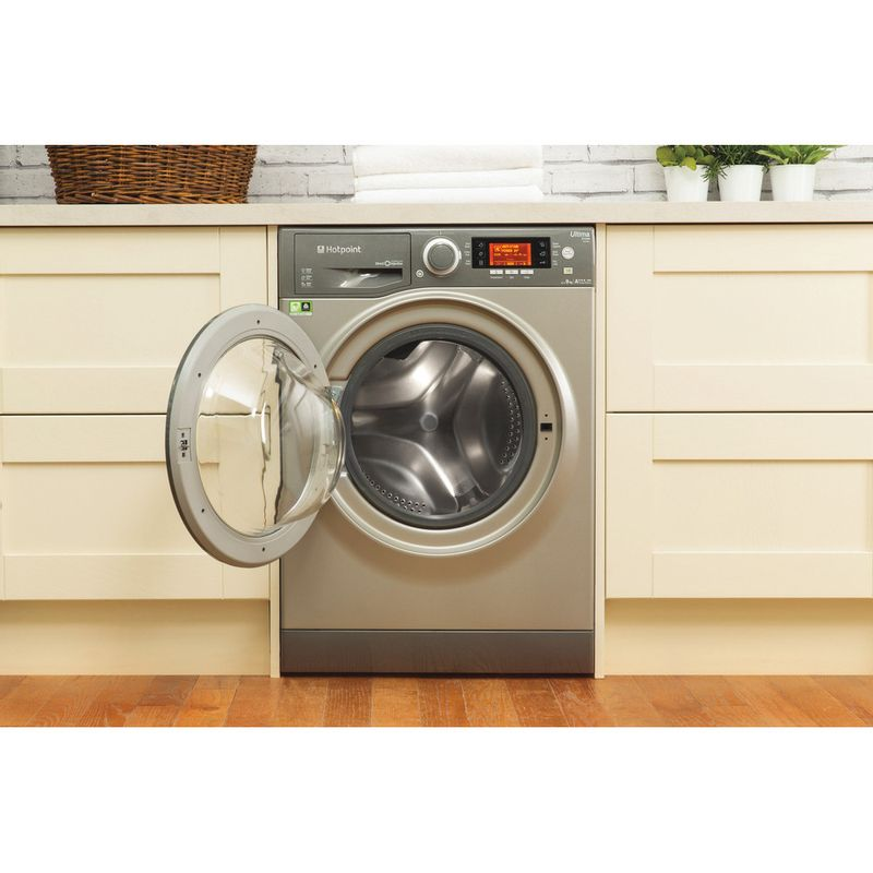 Hotpoint-Washing-machine-Free-standing-RPD-9467-JGG-UK-Graphite-Front-loader-A----Lifestyle_Frontal_Open