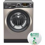 Hotpoint-Washing-machine-Free-standing-RPD-9467-JKK-UK-Black-Front-loader-A----Frontal
