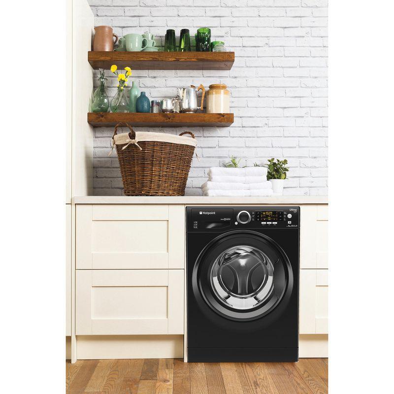 Hotpoint-Washing-machine-Free-standing-RPD-9467-JKK-UK-Black-Front-loader-A----Lifestyle_Frontal