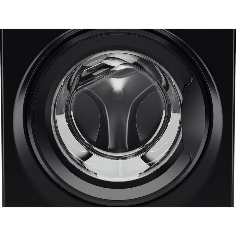 Hotpoint-Washing-machine-Free-standing-RPD-9467-JKK-UK-Black-Front-loader-A----Drum