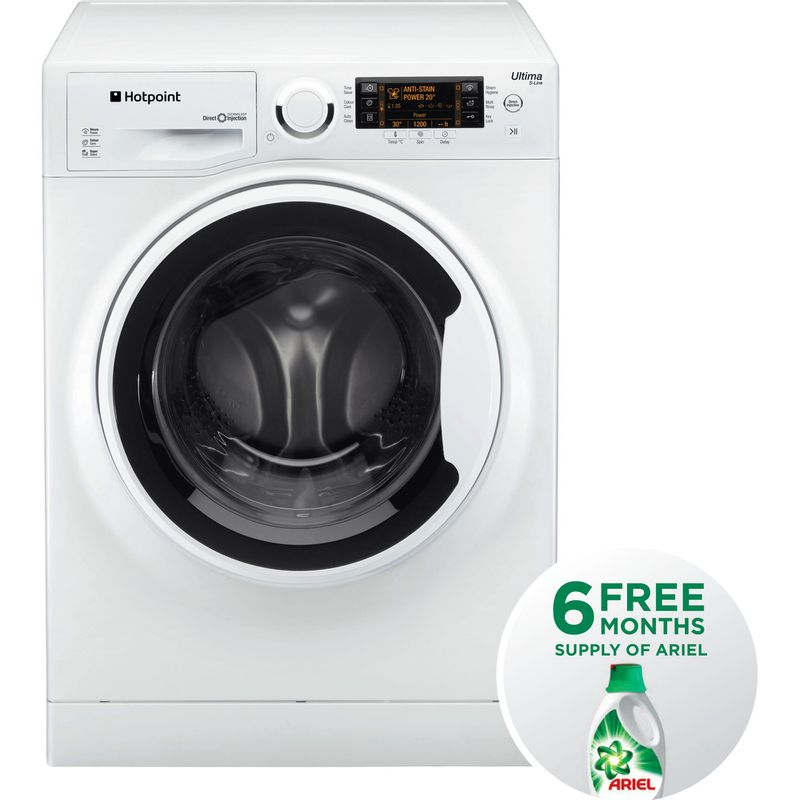 Hotpoint-Washing-machine-Free-standing-RPD-10457-J-UK-White-Front-loader-A----Frontal