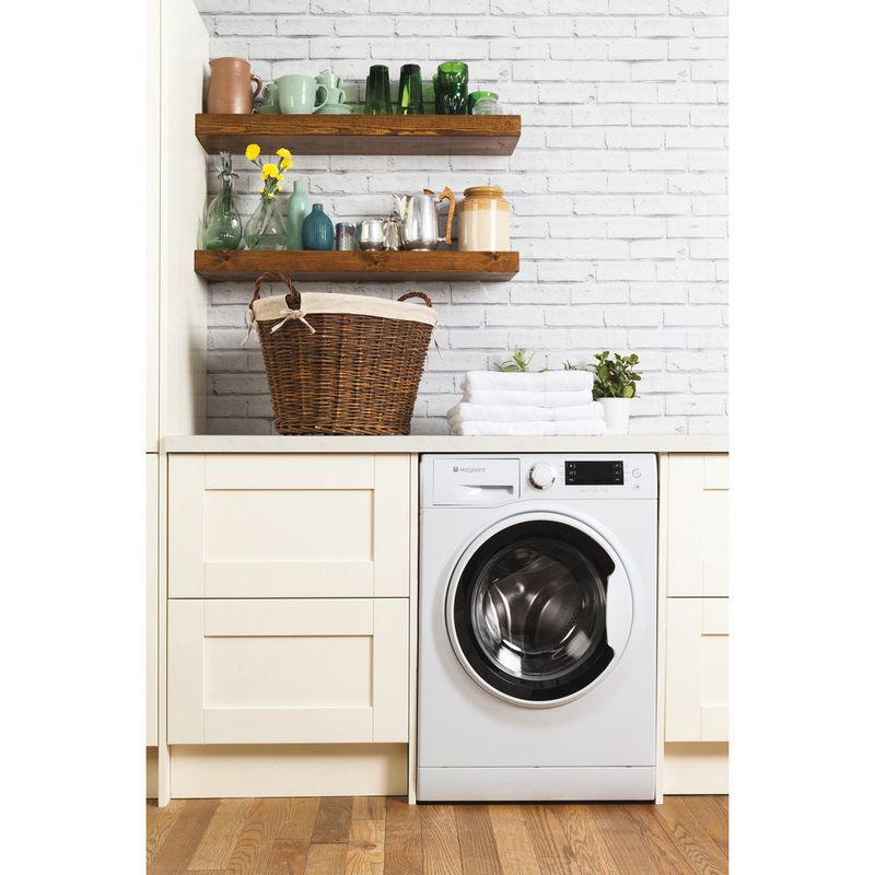 Hotpoint-Washing-machine-Free-standing-RPD-10457-J-UK-White-Front-loader-A----Lifestyle_Frontal