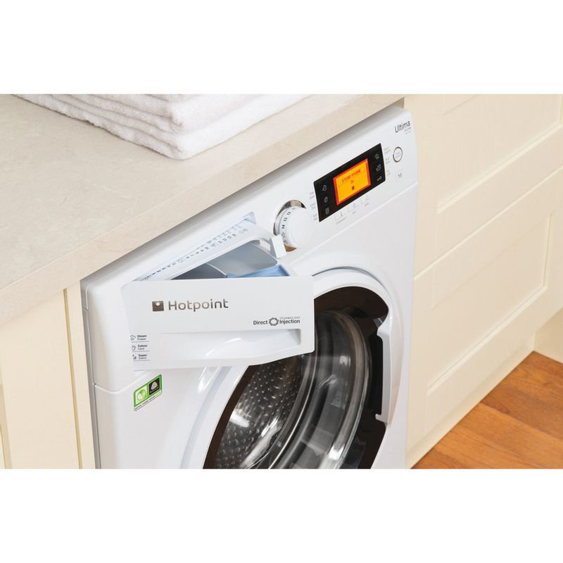 Hotpoint-Washing-machine-Free-standing-RPD-10457-J-UK-White-Front-loader-A----Drawer