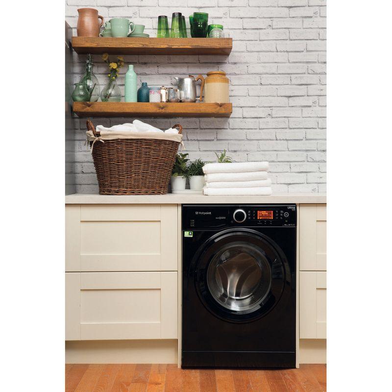 Hotpoint-Washing-machine-Free-standing-RPD-10457-JKK-UK-Black-Front-loader-A----Lifestyle_Frontal