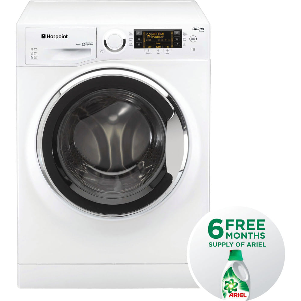 Hotpoint Freestanding Washing Machine RPD 10657 JX UK : discover the specifications of our home appliances and bring the innovation into your house and family.