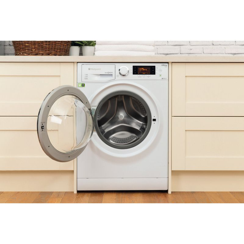 Hotpoint-Washing-machine-Free-standing-RPD-10657-JX-UK-White-Front-loader-A----Lifestyle_Frontal_Open