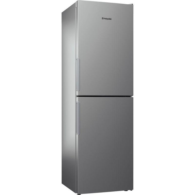 Hotpoint-Fridge-Freezer-Free-standing-XAO85-T1I-G-Graphite-2-doors-Perspective