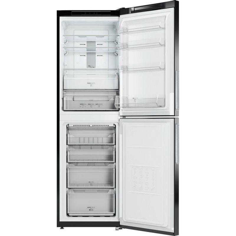 Hotpoint-Fridge-Freezer-Free-standing-XAO85-T1I-G-Graphite-2-doors-Frontal-open
