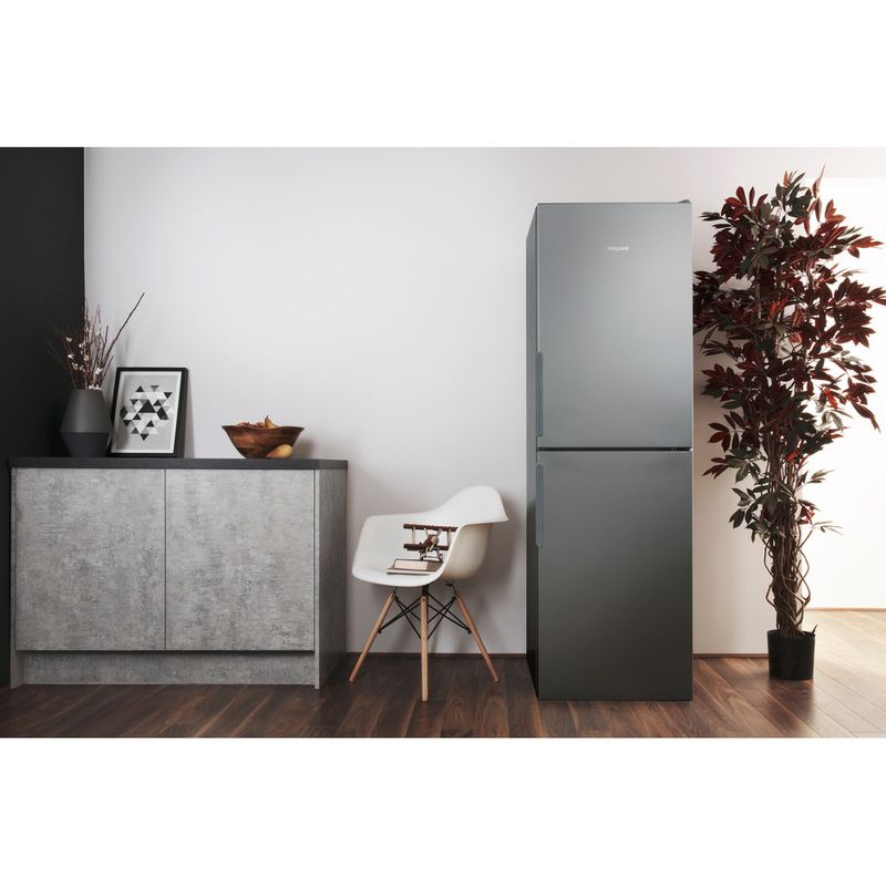 Hotpoint-Fridge-Freezer-Free-standing-XAO85-T1I-G-Graphite-2-doors-Lifestyle-frontal