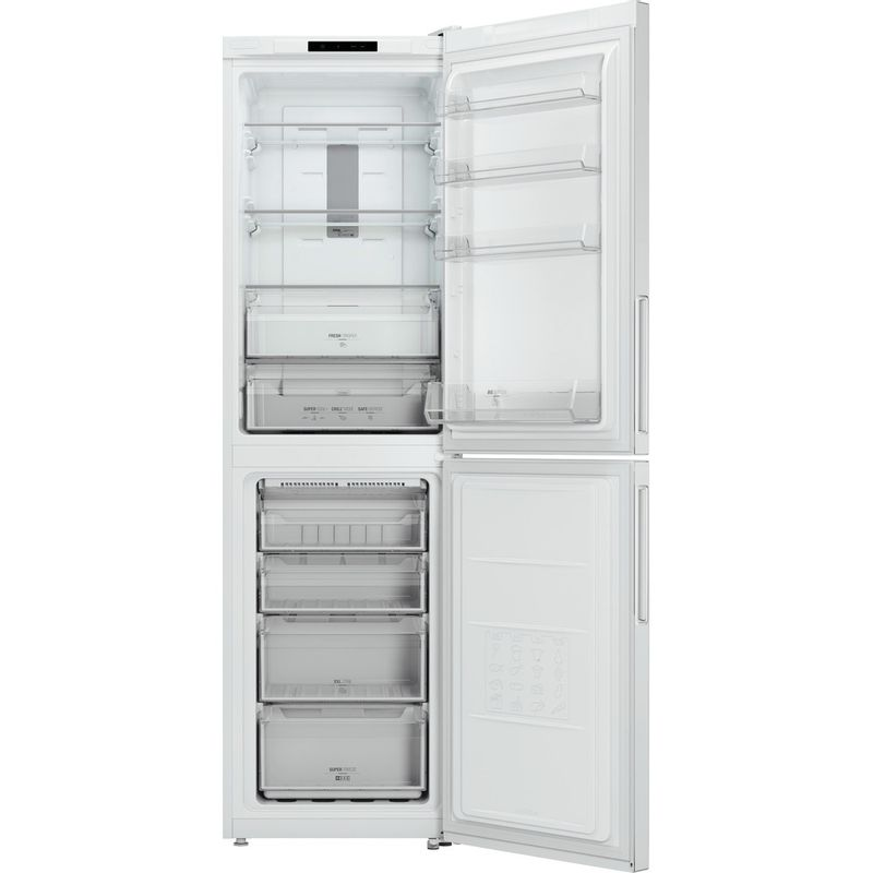 Hotpoint-Fridge-Freezer-Free-standing-XAO95-T1I-W-White-2-doors-Frontal_Open