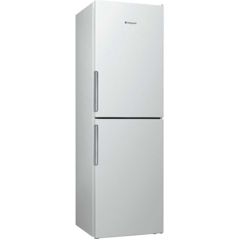Hotpoint-Fridge-Freezer-Free-standing-LAO85-FF1I-W-White-2-doors-Perspective