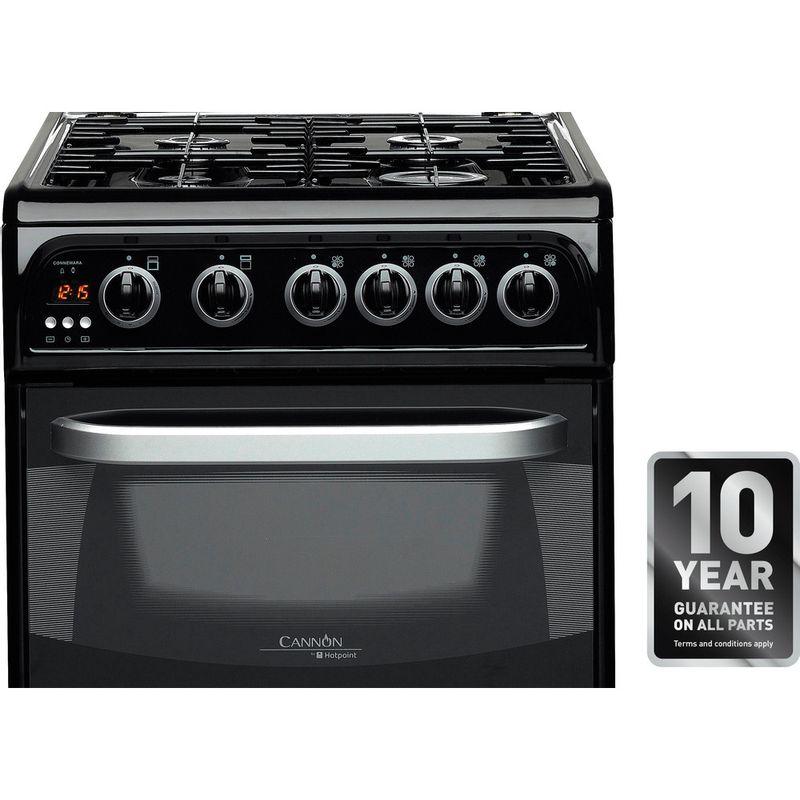Hotpoint-Double-Cooker-CH50GCIK.0-Black-A--Enamelled-Sheetmetal-Award