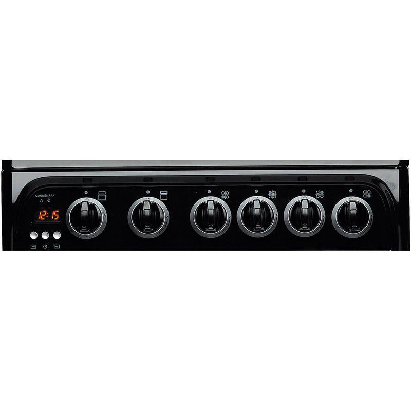 Hotpoint-Double-Cooker-CH50GCIK.0-Black-A--Enamelled-Sheetmetal-Control-panel