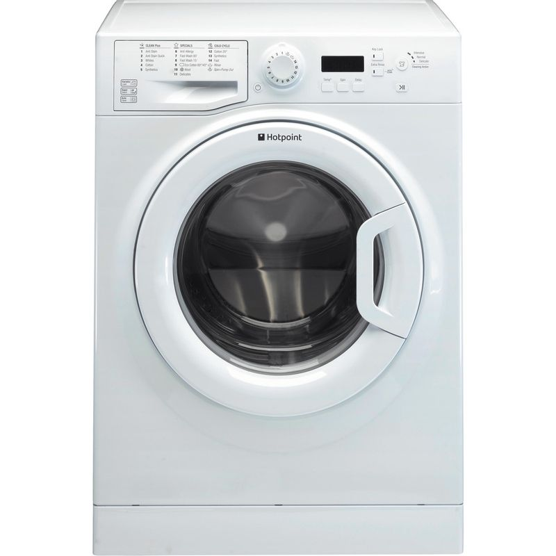 Hotpoint-Washing-machine-Free-standing-WMBF-944P-UK-White-Front-loader-A----Frontal