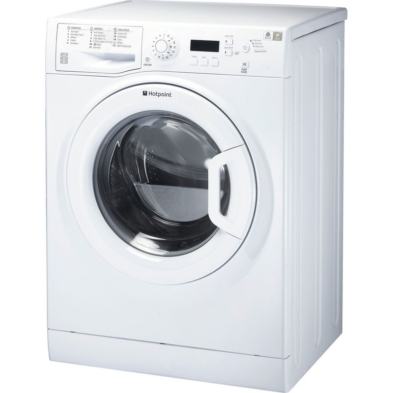 Hotpoint-Washing-machine-Free-standing-WMBF-944P-UK-White-Front-loader-A----Perspective