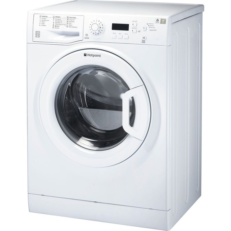 Hotpoint-Washing-machine-Free-standing-WMBF-963P-UK-White-Front-loader-A----Perspective
