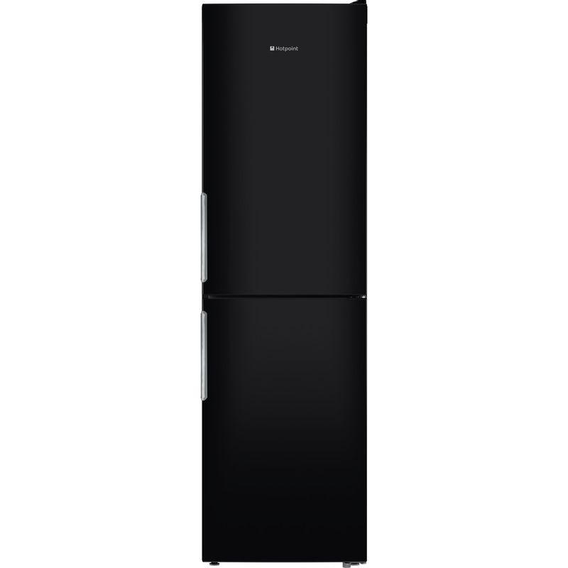 Hotpoint-Fridge-Freezer-Free-standing-XEX95-T1I-KZ-Black-2-doors-Frontal