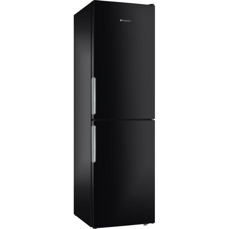 Hotpoint-Fridge-Freezer-Free-standing-XEX95-T1I-KZ-Black-2-doors-Perspective