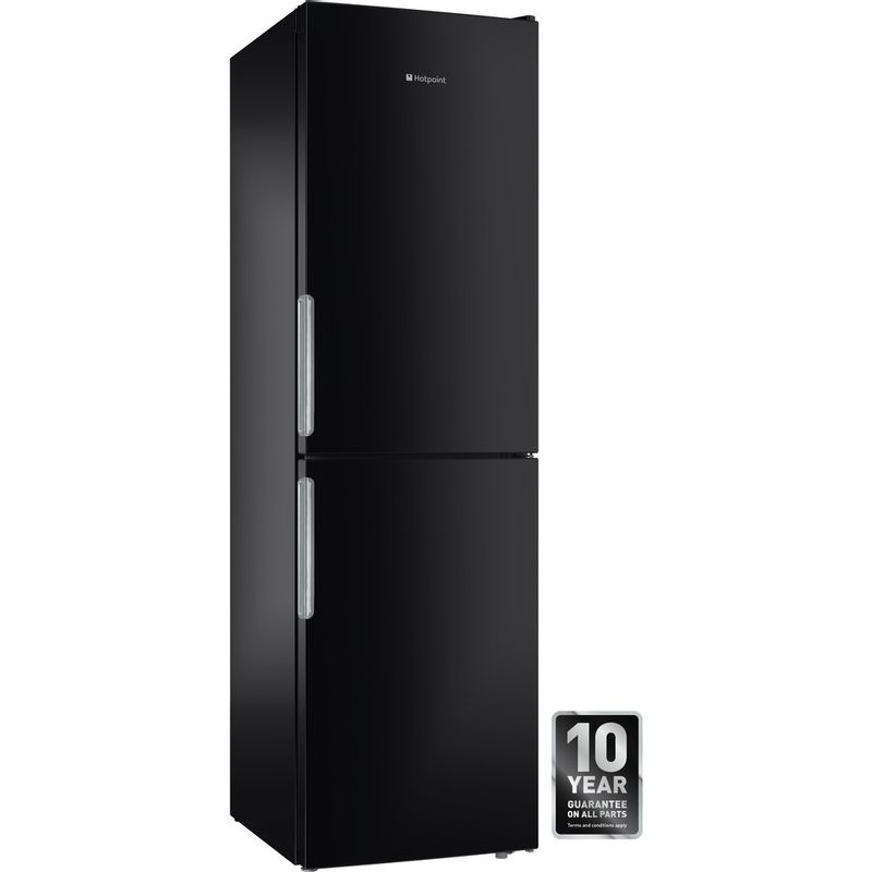 Hotpoint-Fridge-Freezer-Free-standing-XEX95-T1I-KZ-Black-2-doors-Award