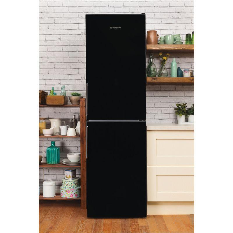 Hotpoint-Fridge-Freezer-Free-standing-XEX95-T1I-KZ-Black-2-doors-Lifestyle_Frontal