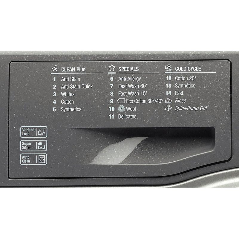 Hotpoint-Washing-machine-Free-standing-WMBF-742G-UK-Graphite-Front-loader-A---Program