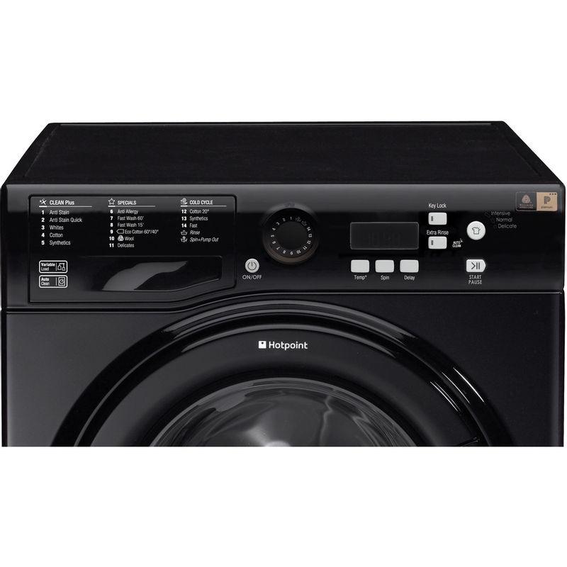 Hotpoint-Washing-machine-Free-standing-WMBF-944K-UK-Black-Front-loader-A----Control_Panel