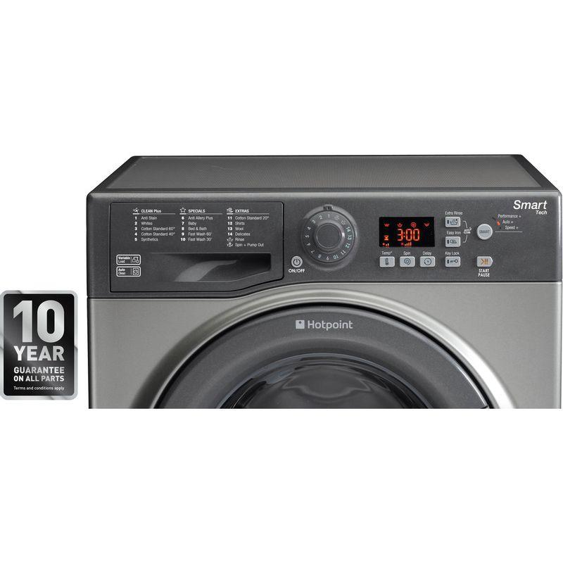 Hotpoint-Washing-machine-Free-standing-WMFUG-842G-UK-White-Front-loader-A---Award